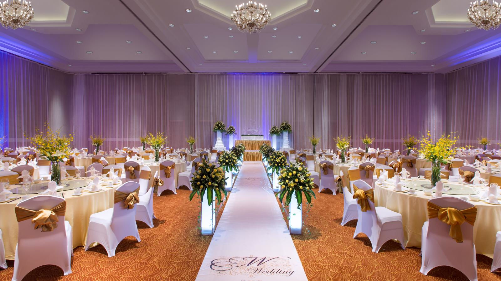 Sheraton Hanoi Hotel - Diamond Wedding Packages